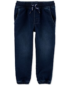 Carter's Toddler Boys Pull-On Denim Jogger Pants