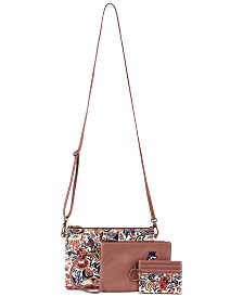 Sakroots Triple Pouch Crossbody