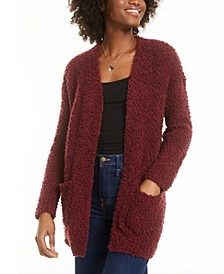 Juniors' Long-Sleeve Cardigan