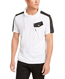 INC Men's Cowl Neck T-Shirt, Created for Macy's