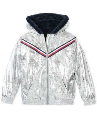 Tommy Hilfiger Baby Girls Light Nylon Parka Coat
