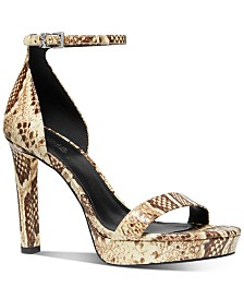 Michael Michael Kors Margot Platform Dress Sandals