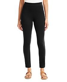 Side-Hem Zip Leggings, Created for Macy's