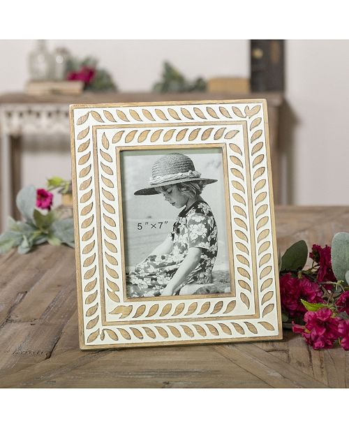 "VIP Home & Garden 5"" x 7"" Multi Wood Picture Frame"