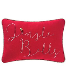 C&F Home Jazzy Jingle Bells Pillow