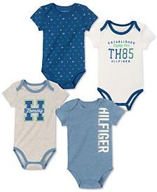 Tommy Hilfiger Baby Boys 4-Pk. Bodysuits