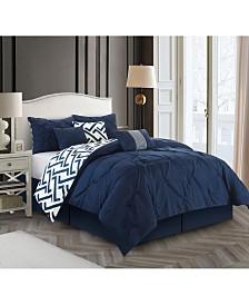 Loren 7-Piece California King Comforter Set