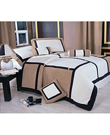 Meriddia 7-Pc. Queen Comforter Set