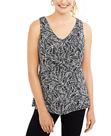 Motherhood Maternity Sleeveless Nursing Top