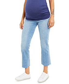 Joe's Jeans Maternity Cropped Boot-Cut Jeans
