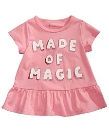 First Impressions Baby Girls Cotton Made Of Magic Tunic, Created for Macy's