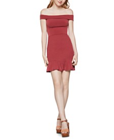 BCBGeneration Off-The-Shoulder Sheath Dress