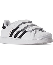 Little Boys' Originals Superstar Casual Sneakers from Finish Line
