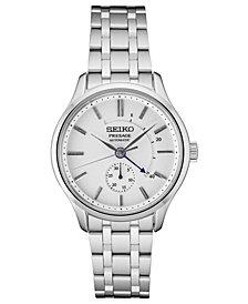 Seiko Men's Automatic Presage Stainless Steel Bracelet Watch 42mm