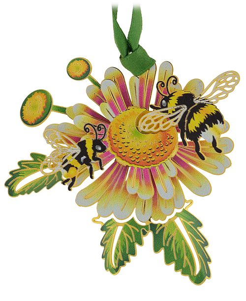 ChemArt Bumble Bees Ornament