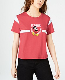 Juniors' Iconic Mickey Mouse T-Shirt