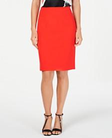 Calvin Klein Straight Skirt