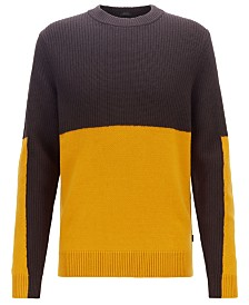 BOSS Men's Bilal Regular-Fit Sweater