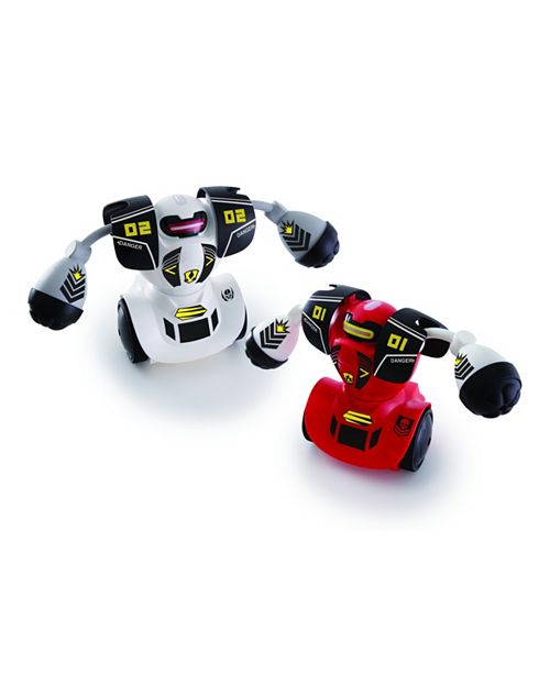 Sharper Image Toy RC Robot Combat 2pk