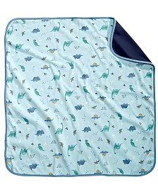 First Impressions Baby Boys Cotton Dinosaur Blanket, Created for Macy's