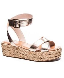 Zodiac Espadrille Flatform Sandals