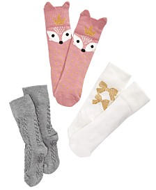 First Impressions Baby Girls 3-Pk. Socks, Created for Macy's