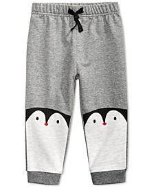 Baby Boys Penguins Jogger Pants, Created For Macy's