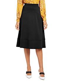 Seamed A-Line Midi Skirt, Created for Macy's
