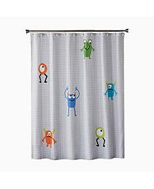 Ltd Monsters Shower Curtain