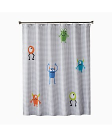 Saturday Knight Ltd Monsters Shower Curtain