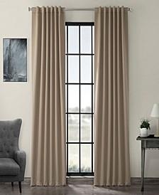 "Exclusive Fabrics Furnishings Blackout Curtain 84"" x 50"" Curtain Panel"