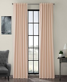 "Exclusive Fabrics Furnishings Blackout Curtain 96"" x 50"" Curtain Panel"