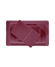 Addy Home Luxury Cotton Deep Pocket 4-Piece Sheet Set, Cal King