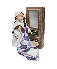 """Officially Licensed Little House on the Prairie 18"""" Laura Ingalls Doll"""