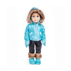 """The Queen's Treasures 18"""" Ski Wear Doll Clothes Outfit - 6 Piece"""
