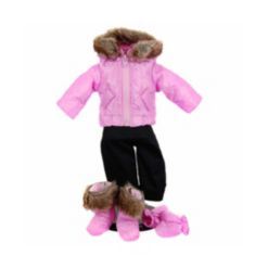 """The Queen's Treasures 16"""" Baby Doll Clothes - 6 Piece"""