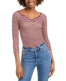 Self Esteem Juniors' Striped Bodysuit