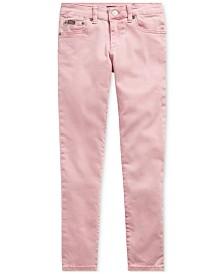 Polo Ralph Lauren Big Girls Tompkins Skinny-Fit Jeans
