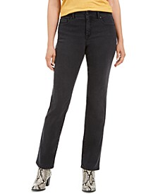 Curvy Straight-Leg Jeans, Created for Macy's