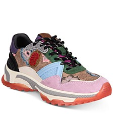 Women's C143 Printed Runner Sneakers