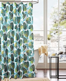 Classic Fern Printed Shower Curtain
