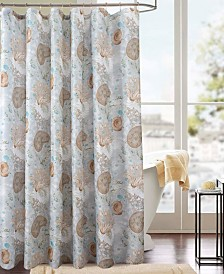 RT Designers Collection Classic Snail Printed Shower Curtain
