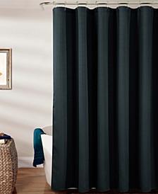 Warwick Textured Jacquard Shower Curtain