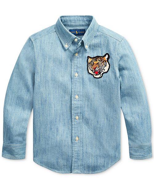 Polo Ralph Lauren Little Boys Chambray Shirt