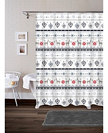 CLOSEOUT! Reindeer 17-Pc. Bath Set
