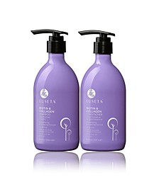 Luseta Beauty Biotin & Collegan Shampoo & Conditioner Set 33.8 Ounces