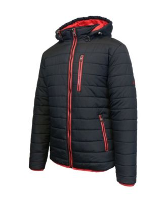 Mens Quilted Puffer Jacket from Spire