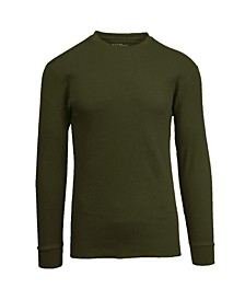 Men's Waffle Knit Thermal Shirt
