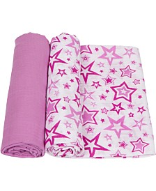 Miracle Baby Muslin Swaddle - Pack of 2