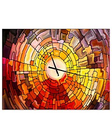 Designart Oversized Modern Metal Wall Clock